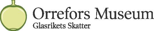 Orrefors Museum | Glasrikets Skatter - Logotype